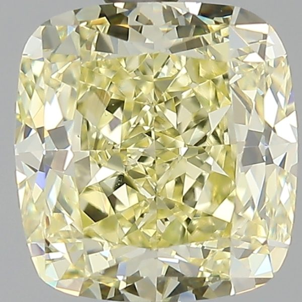 Желтый бриллиант 1 карат фото спереди