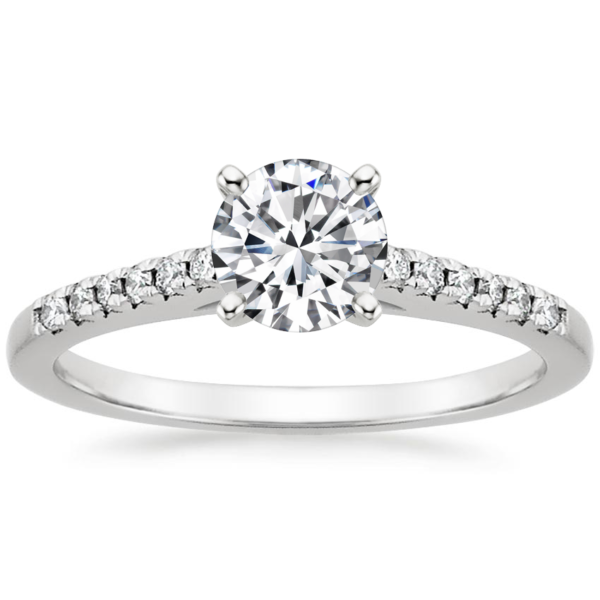 Кольцо с бриллиантами помолвочное