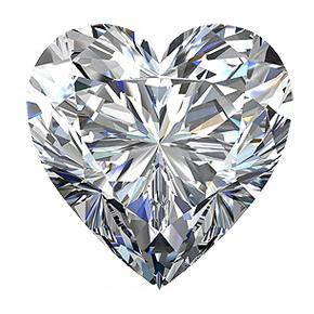 Купить бриллиант сердце